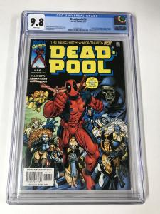 Deadpool (1997 series) #50 CGC 9.8