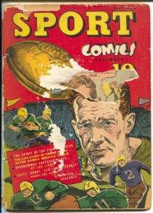 Sport #4 1941-football coach Frank Leahy-Dude Enory-boxing-P/FR