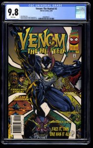 Venom: The Hunted #2 CGC NM/M 9.8 White Pages