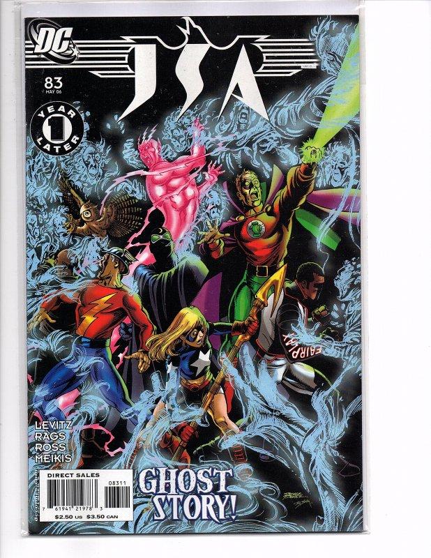 DC Comics (2006) JSA #83 1 Year Later George Pérez Cover