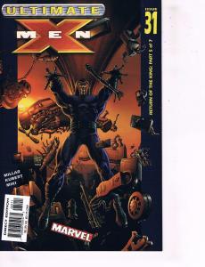 Lot Of 6 Ultimate X-Men Marvel Comic Books #31 32 33 34 35 36 Wolverine Hulk J91