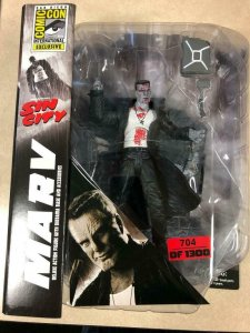 SIN CITY MARV exclusive Action figure, MIB SDCC Limited to 1300, #285