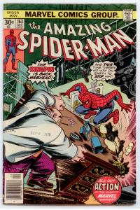 Amazing Spider-Man #163 HIGHER GRADE  Kingpin