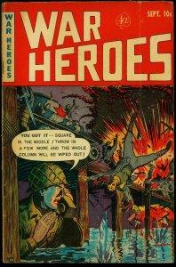 War Heroes #3 1952- Korean War- Ace Comics G