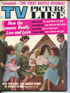 TV Picture Life-Edward R. Murrow-Lennon Sisters-Beatles-Aug-1965