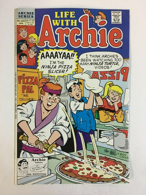 LIFE WITH ARCHIE (1958-    )282 VF-NM Jan 1991 COMICS BOOK