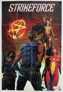 Strikeforce Blade Team Folded Promo Poster [P73] (36 x 24) - New!