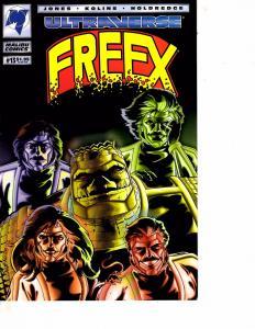 Lot Of 2 Malibu Comic Books Ultraverse Freex #13 and Solitaire #1 ON12