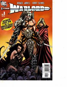 Lot Of 2 DC Comic Book Warlord #1 and Armageddon 2001 #1  MS22