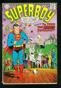 SUPERBOY #139 1967-DC SILVER AGE-PELTING COVER-G/VG