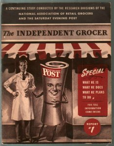 Independent Grocer #1 11/1944-1st issue-grocery store sales & trends-FN