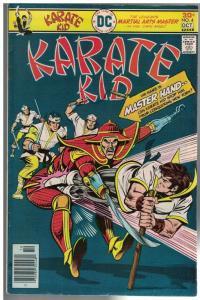 KARATE KID (1976) 4 VG-F  Oct. 1976