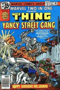 Marvel Two-In-One (1974 series) #47, VF- (Stock photo)