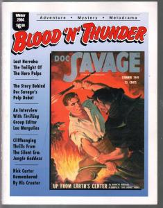 Blood 'n' Thunder #6 Winter 2004-Doc savage-Nick Carter-Hero pulps-VF