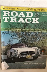 Road and track June 1961,good,detached cntrfld,C all my vintage mags!