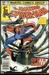 AMAZING SPIDER-MAN #236-1983-MARVEL-fine FN