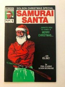 Solson Publications SAMURAI SANTA Christmas Special #1  VERY FINE(A82)