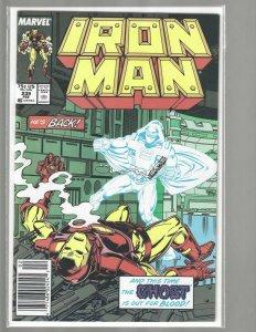 Iron Man, #239 Marvel Comic, 1988, High Grade