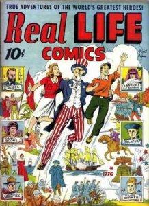Real Life Comics #1 FAIR; Standard   low grade comic - save on shipping - detail