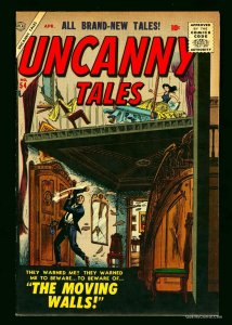 Uncanny Tales #54 FN/VF 7.0 White Pages Circle 8