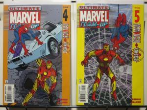 ULTIMATE MARVEL TEAM UP (2001) 4-5  Spidey & Iron-Man !