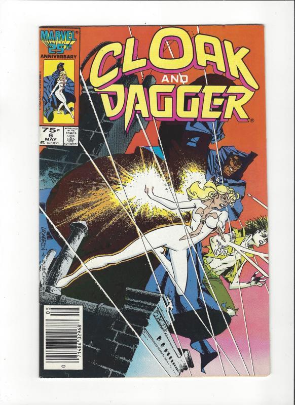 CLOAK AND DAGGER #1-7 SET (VF)  MARVEL COMICS