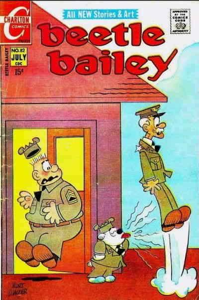Beetle Bailey (Vol. 1) #82 FN; Charlton | save on shipping - details inside