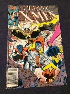 Classic X-Men #7 Marvel Comics VF (1987)