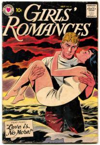 Girls' Romances #61 1959-DC COMICS-SWIMSUIT COVER ART  VG