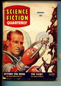 Science Fiction Quarterly-Pulp-8/1955-John Jakes-Sam Merwin Jr