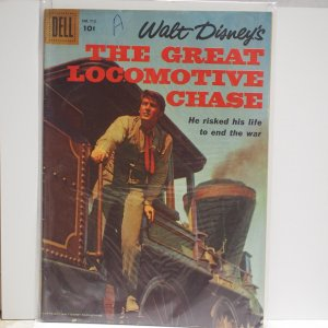 Four Color #712 (1956) The Great Locomotive Chase. Fine-Very Fine