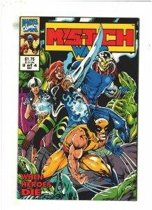 Mys-Tech Wars #3 VF/NM 9.0 Marvel UK 1993 Death's Head II, X-Men & Avengers