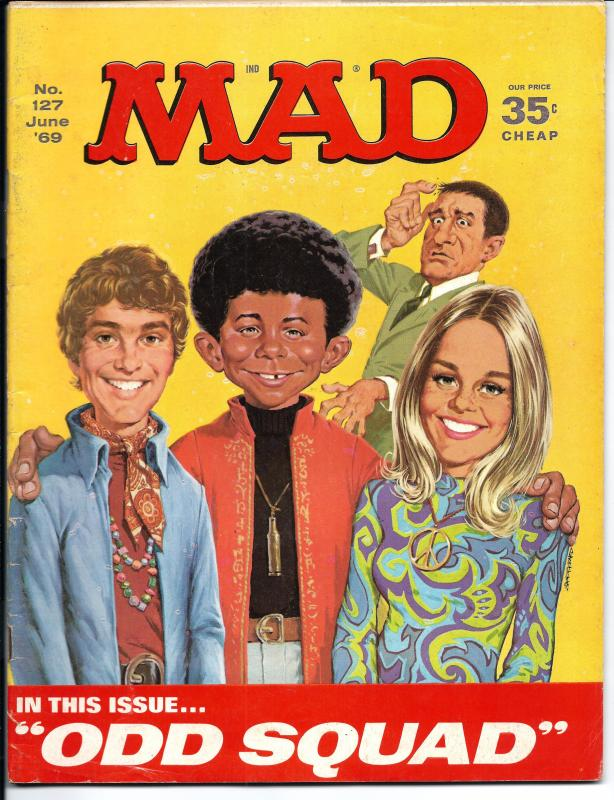 Mad No. 127,  June, 1969 (FN)