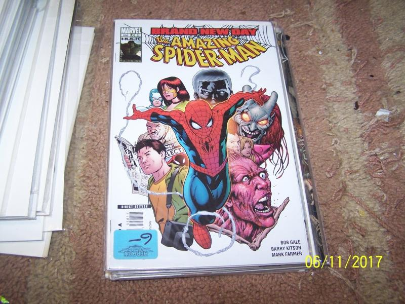 Amazing Spider-Man# 558 (Jul 2008, Marvel) BRAND NEW DAY aunt may+lizzard