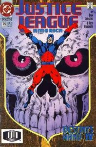 Justice League (1987 series) #75, NM- (Stock photo)