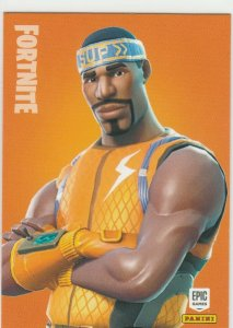 Fortnite Hyperion 173 Rare Outfit Panini 2019 trading card series 1