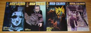 High Caliber #1-4 VF/NM complete series GARY REED caliber comics anthology 1997
