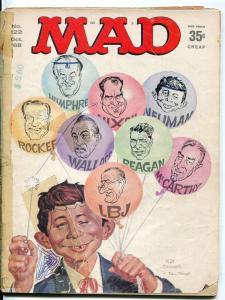 Mad-Magazine-#122-1968-Mort Drucker-Don Martin-David Berg-Political