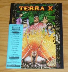 Terra X #3 VF rebel studios - tim vigil cover (front, back + centerfold) FAUST