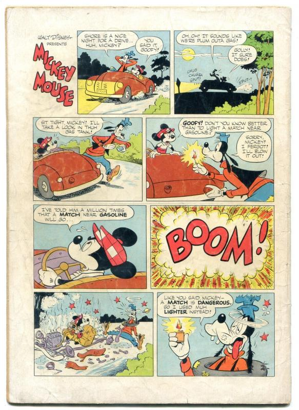 Mickey Mouse Goofys Mechanical Wizard Four Color 401 1952