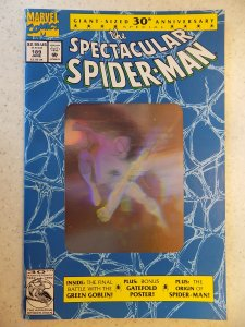 SPECTACULAR SPIDER-MAN # 189 MARVEL HOLOGRAM COVER ACTION ADVENTURE