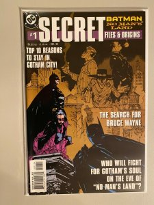 Bastman No Man's Land Secret Files #1 8.0 VF (1999)