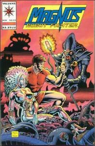 Valiant MAGNUS ROBOT FIGHTER (1991 Series) #24 VF/NM