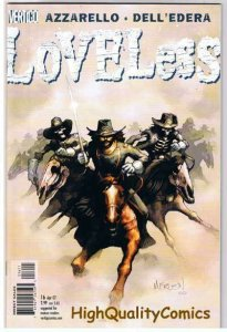 LOVELESS 16, NM+, Civil War, Brian Azzarello, 2005, more Vertigo in store
