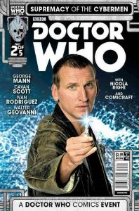 Doctor Who: Supremacy of the Cybermen #2B VF; Titan | save on shipping - details