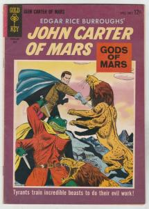 John Carter of Mars #2 (Jul-64) VG/FN+ Mid-Grade John Carter, Dejah Thoris, T...