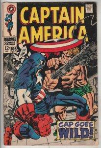 Captain America #106 (Oct-68) FN+ Mid-High-Grade Captain America