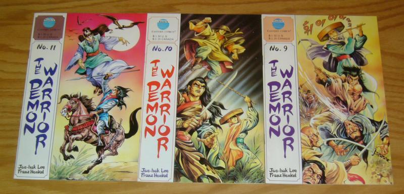 Demon Warrior #1-11 VF complete series - eastern comics manga set lot