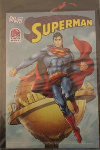 Taco Bell Kid?s Meals Premium: DC Comics 75th Anniversary 3-D Superman  NM Un...