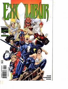 Lot Of 2 Excalibur Marvel Comic Books #3 4  Thor Iron Man DC5